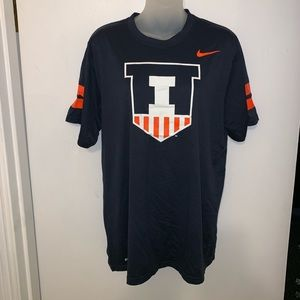 University of Illinois NIKE DRY-FIT SHIRT